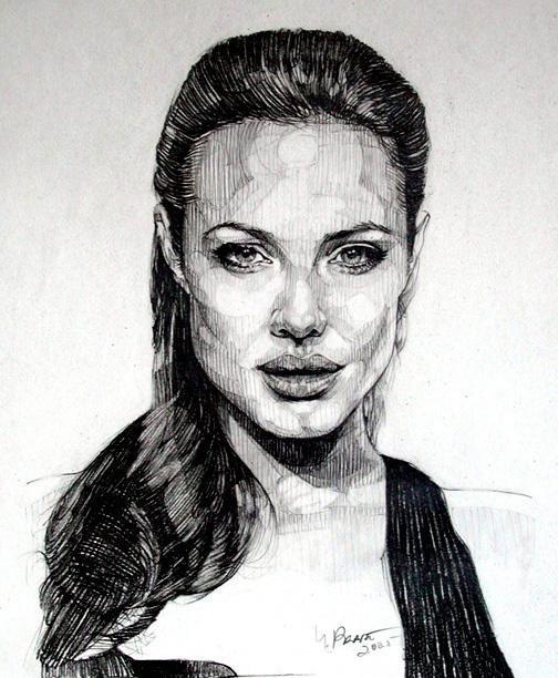 Angelina Jolie by poliyol